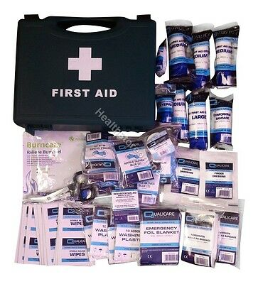First Aid Kits - BSS8859 Compliant - Small, Medium, Large- Refills - Cuts Wounds