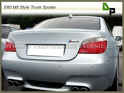 #354 Titan Silver M5 Look Trunk Spoiler Wing BMW E60 5-Series Sedan 2004-2010