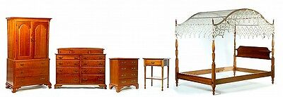 FIVE-PIECE STICKLEY BEDROOM SUITE. Lot 1281