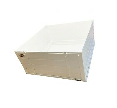 Warwick Deluxe Whelping Box Dog Puppy Plastic Flat Packed re-usable easy clean