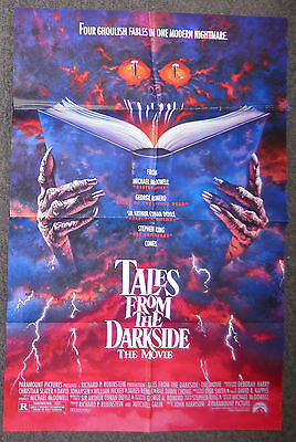 Tales From The Darkside The Movie 1990 Original Ds 1 Sheet Poster