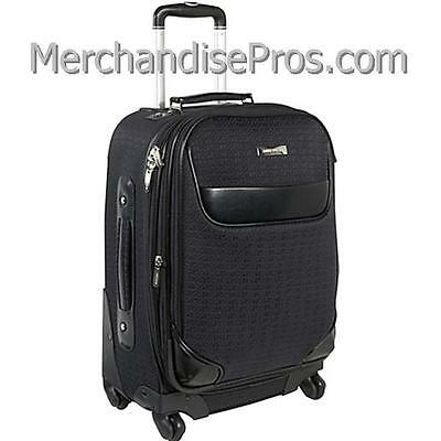 "ANNE KLEIN 20"" EXPANDABLE CARRY-ON BUSINESS LUGGAGE 360 SPINNER UPRIGHT  NEW!"