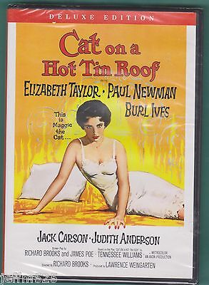 Cat on a Hot Tin Roof (DVD, 2006, Deluxe Edition) WS New (Read Description)