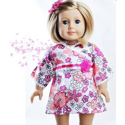 """New Handmade Pink 18"""" Doll Dress Clothes for American Girl SELECTION"""