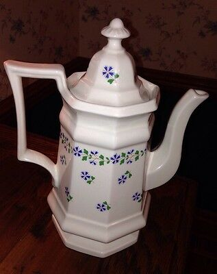 IROQUOIS Coffee Pot HENRY FORD MUSEUM Periwikle Collection GREENFIELD VILLAGE