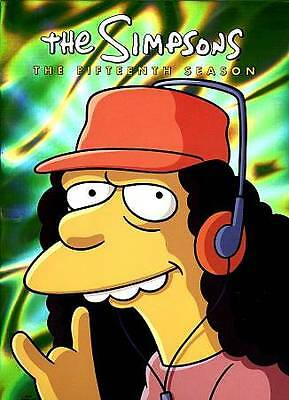 New Sealed The Simpsons - The Complete Fifteenth Season DVD 15