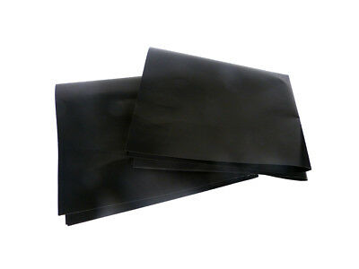 Hyfive - BBQ Grill Mat/Sheet - Resistant & Non-Stick - Black - Pack of 2