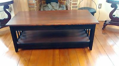 Reclaimed Chestnut Mission Style Coffee Table