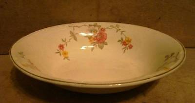 Vintage Oval Serving Vegetable Bowl Semi Vitreous Edwin M Knowles China Co USA