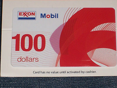 $100 Mobil Gas Card