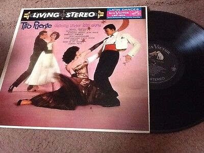 Tito Puente Dancing Under Latin Skies RCA LIVING STEREO LP Cuban Pete Brazil