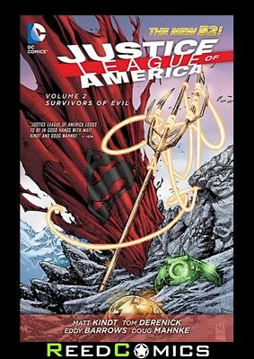 JUSTICE LEAGUE OF AMERICA VOLUME 2 SURVIVORS OF EVIL GRAPHIC NOVEL New Paperback