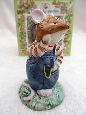 ROYAL DOULTON – BRAMBLY HEDGE 'WILFRED TOADFLAX'