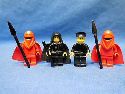 LEGO STAR WARS MINIFIG FIGURES FROM SET #7166 LOT OF 4