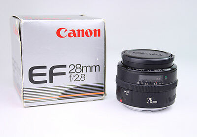 Canon EF 28mm F/2.8 Lens, SLR, Wide Angle, Metal Mount, for Rebel or EOS