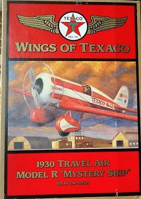 "Wings of Texaco 1930 Travel Air Model R "" Mystery Ship"" (5th in the series)"