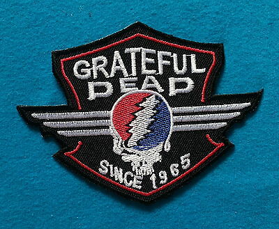 GRATEFUL DEAD 1965 CLASSIC ROCK BAND Embroidered Iron Or Sew On Patch  FREE SHIP