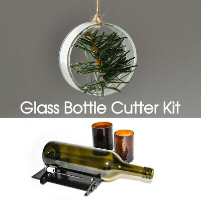 Glass Bottle Cutter Kit Jar Cutting Machine DIY Recycle Tool Set AU Stock