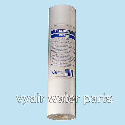 "10"" 25 Micron Particle/Sediment Filter For Reverse Osmosis & Other Filtration"