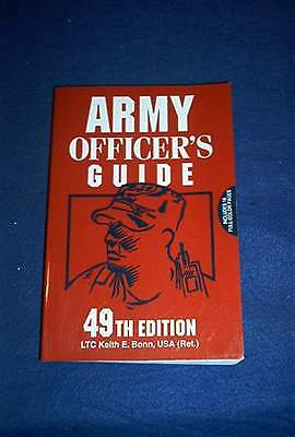 Book-U S Army Officers Guide-49th Edition