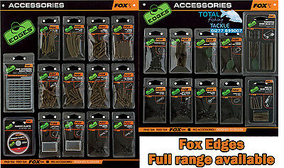Fox NEW Edges Terminal Tackle & Rig Bits Accessories *Full Range Available*