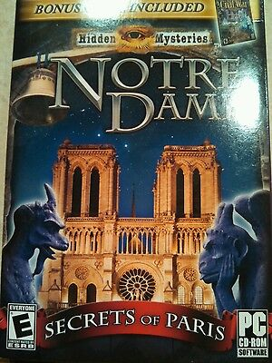 Hidden Mysteries: Notre Dame -- Mysteries of the Ancient Cathedral  (PC, 2011)