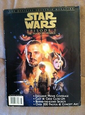 Star Wars Episode 1: The Phantom Menace Official Souvenir Magazine