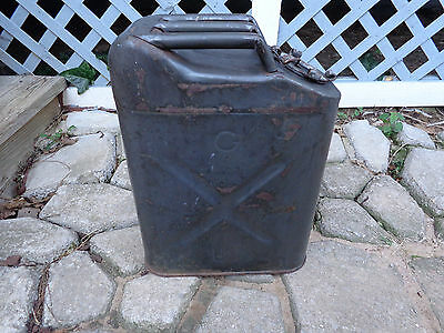 Vtg Vietnam 1969 ? USMC ICC-5L Military Jeep Jerry Can Water Gas Fuel Container
