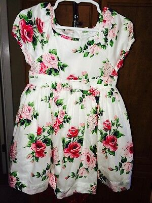 NWT Baby Gap 18-24 Months Roses Party Tuille Layer Dress Vintage