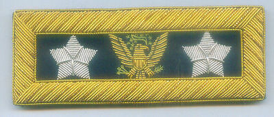 US Eagle General Staff Officer Uniform Union Rank Army Boards Straps Civil War