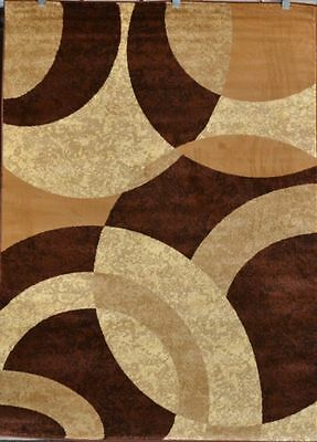 New Abstract Beige Brown Contemporary 8x10 Modern Large Area Rugs 8x11