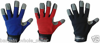 Mechanics Work Safety Hand Protection Diy Warehouse Store Man Working Gloves