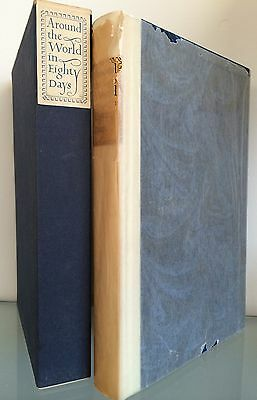 Jules Verne Around the World in 80 Days Signed Illustrated Limited Edition 1962