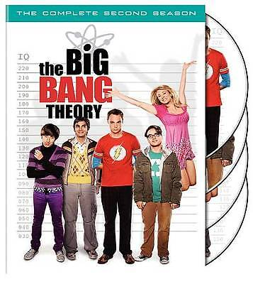 The Big Bang Theory - The Complete Second Season 2 (DVD, 2009, 4-Disc Set)