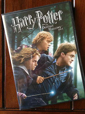 HARRY POTTER AND THE DEATHLY HALLOWS Part One ~ Widescreen DVD ~ Good