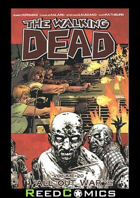 THE WALKING DEAD VOLUME 20 ALL OUT WAR P.1 GRAPHIC NOVEL Collects Issues 115-120