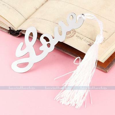 High Quality Metal Letter Love Memo Stationery Bookmark Note Ribbon Box Gift #3