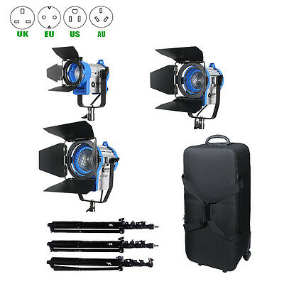 For Film Dimmer Built-in 150W+300W+650W Tungsten Spot light with + stands kit