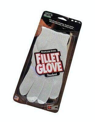 Large Size Intruder Stainless Steel Filleting Glove - Made In The U.S.A
