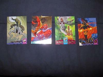 Lot Of 4 X-Men Marvel Trading Cards 1994 Fleer Ultra Series Vintage (O) AS IS