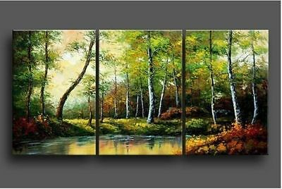 MODERN ABSTRACT HUGE WALL ART OIL PAINTING(no frame )