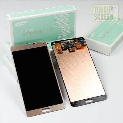 NEU & 100% Original Samsung Galaxy Note 4 SM-N910F Display Screen gold