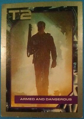 1991 Impel Terminator 2 (T2) Trading Card #74 - Armed and Dangerous