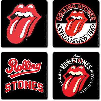 The Rolling Stones 4 Piece Coaster Set
