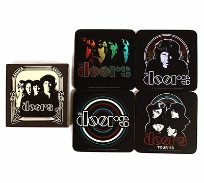 Official The Doors - Classic Artwork - 4 Piece Coaster Set