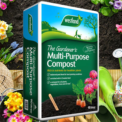 Westland Multi Purpose Compost 100 Litre  BEST PRICE ON EBAY!! FAST DELIVERY