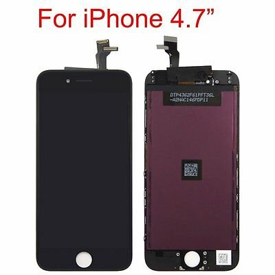 "Repair LCD Touch Screen Digitizer Assembly & Frame Tools for iphone 6 4.7"" Black"