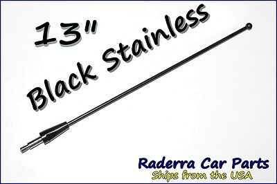 """15/"""" Black Spring Stainless AM//FM Antenna Mast Fits 1975-2008 Ford F150"""