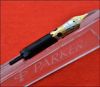 Parker Sonnet Fountain Pen Italic Width Nib PART, Two Tone Solid Gold (REF3101)