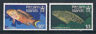 Pitcairn Is 1988 Fishes SG 312/3 MNH
